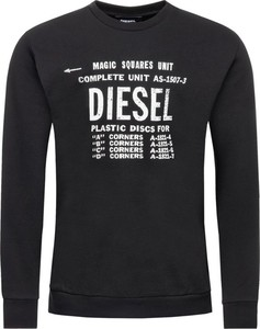 Czarna bluza Diesel