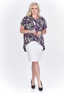 Sukienka Fokus midi dla puszystych