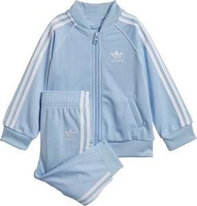 Dres dziecięcy Adidas Originals dla chłopców z dzianiny