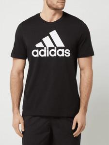 T-shirt Adidas Performance w sportowym stylu z krótkim rękawem
