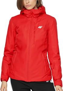 Czerwona kurtka 4F krótka w sportowym stylu