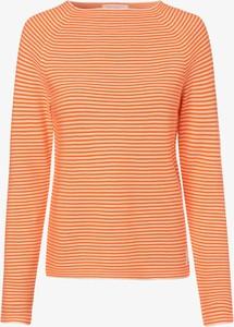 Pomarańczowy sweter Marc O'Polo DENIM w stylu casual