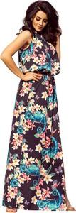 Sukienka NUMOCO rozkloszowana maxi w stylu boho