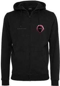 Czarna bluza MAJORS z nadrukiem