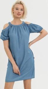 Sukienka Diverse z krótkim rękawem