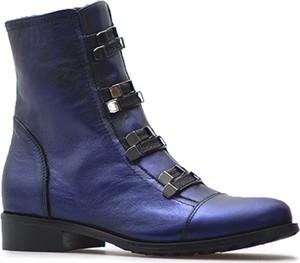 efe2dccae9f5 Niebieskie buty damskie na zamek z Arturo-obuwie