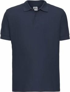 Koszulka polo Russell z krótkim rękawem z bawełny