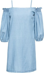 Niebieska sukienka bonprix RAINBOW