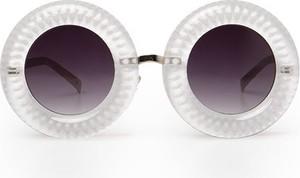 Srebrne okulary damskie Jeepers Peepers