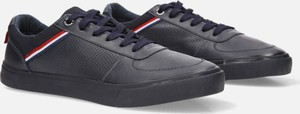 Granatowe buty sportowe sznurowane Casu 20A15/N