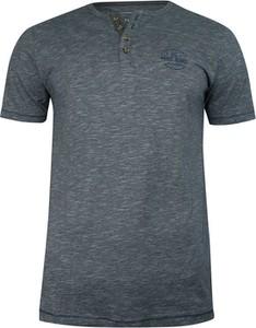 T-shirt Pako Jeans z nadrukiem z krótkim rękawem z bawełny