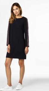 Sukienka Esprit trapezowa z okrągłym dekoltem w stylu casual