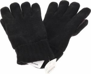 Czarne rękawiczki J.CREW