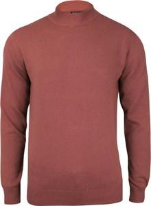 Różowy sweter Brave Soul z bawełny