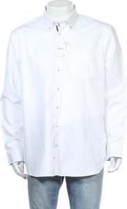 Koszula CANDA z kołnierzykiem button down z długim rękawem