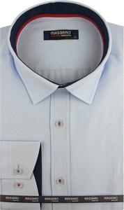 Koszula Massaro z tkaniny z długim rękawem