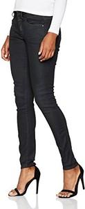Czarne jeansy G-Star Raw w street stylu