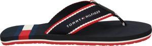 Czarne buty letnie męskie Tommy Hilfiger