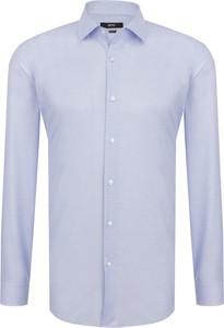 Koszula Boss z klasycznym kołnierzykiem w stylu casual z bawełny