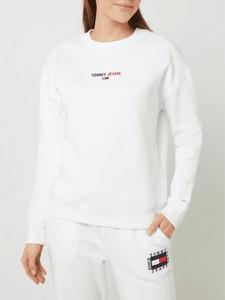 Bluza Tommy Jeans z bawełny krótka