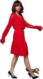 Sukienka ECHO z długim rękawem mini