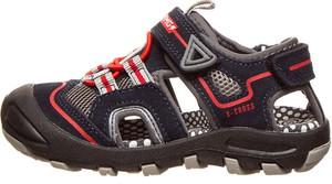 Czarne buty dziecięce letnie Primigi ze skóry dla chłopców