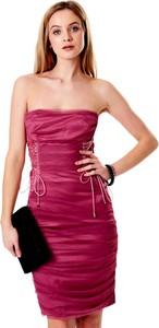 Czerwona sukienka Sheandher.pl hiszpanka bez rękawów