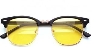 Stylion Rozjaśniające okulary do Jazdy Nocą dla kierowców Clubmaster P5055-C2