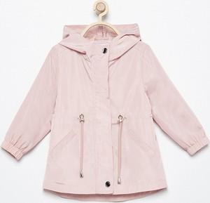 854d7aed8ce8f Różowe kurtki i płaszcze dziecięce, kolekcja wiosna 2019