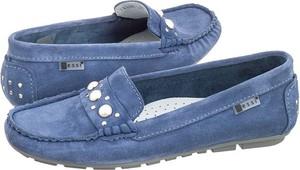 Niebieskie półbuty nessi w stylu casual