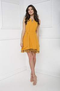 Żółta sukienka Marcelini