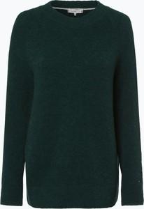 Zielony sweter Tommy Hilfiger z wełny w stylu casual