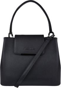 Czarna torebka Justbag duża matowa