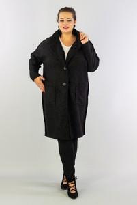 Płaszcz KARKO z wełny w stylu casual