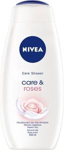 Nivea, Care, Shower, żel pod prysznic, care & roses, 500 ml