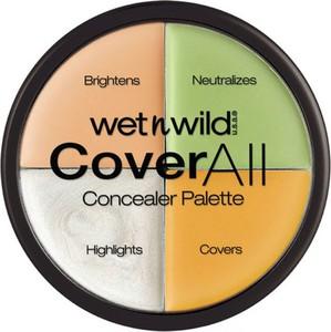 Wet n Wild, Cover All Concealer Palette, paleta korektorów do twarzy, 6.5 g