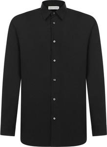Czarna koszula Alexander McQueen z długim rękawem