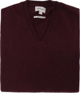 Czerwony sweter Woolrich z dżerseju w stylu casual