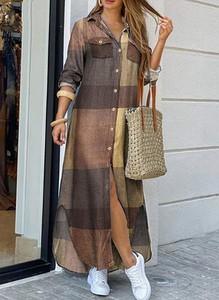 Sukienka Sandbella koszulowa