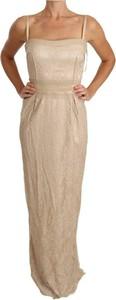 Sukienka Dolce & Gabbana na ramiączkach maxi