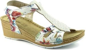 Sandały Inblu ze skóry ekologicznej w stylu casual