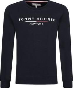 Czarna bluza dziecięca Tommy Hilfiger