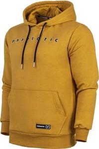 Żółta bluza Patriotic z żakardu