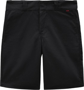 Czarne spodenki Dickies z bawełny w sportowym stylu