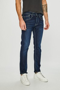 Granatowe jeansy Pepe Jeans
