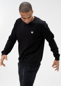Czarna bluza Jigga Wear w stylu casual