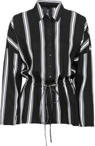 Czarna koszula bonprix RAINBOW z długim rękawem w stylu casual