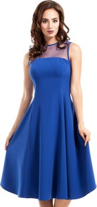 Sukienka MOE midi z tiulu bez rękawów