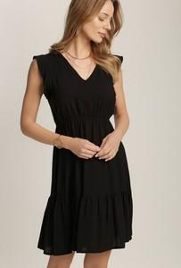 Sukienka Renee z dekoltem w kształcie litery v bez rękawów trapezowa
