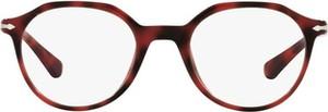 Czerwone okulary damskie Persol